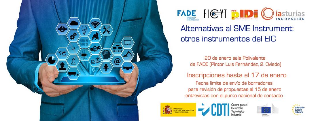 Jornada sobre programas de financiación europea para empresas @ Sala Polivalente FADE
